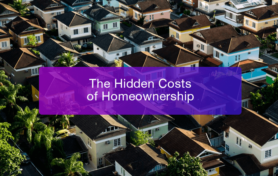 Hidden Home Ownership Cost